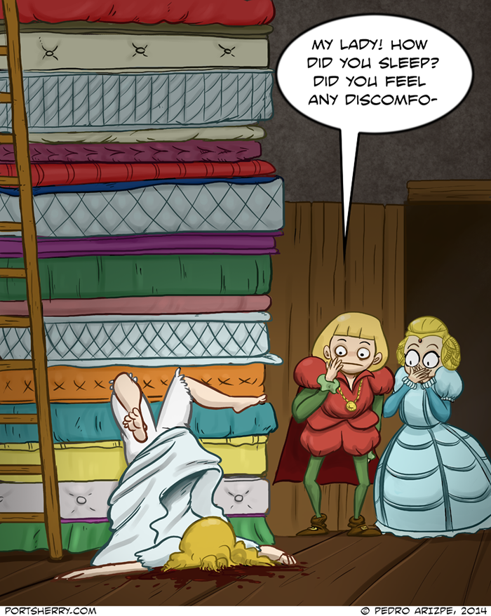 Princess and the Pea: A Short Story