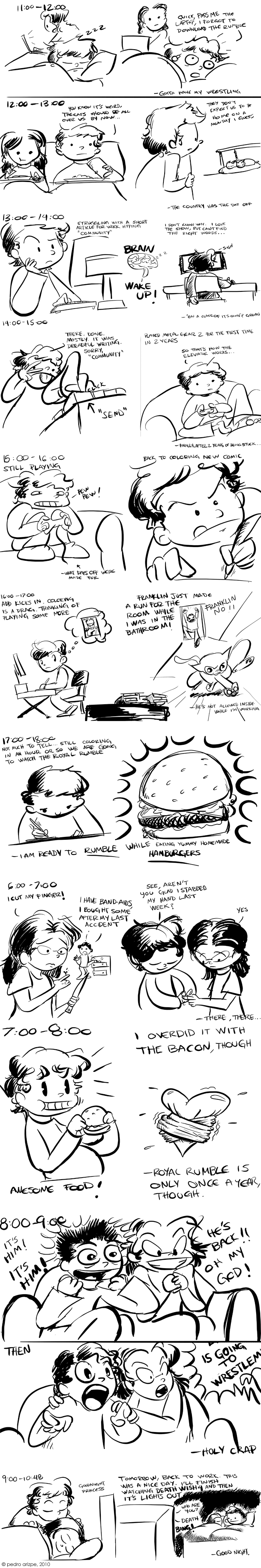 Hourly Comic Day 2010